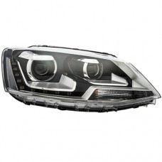 Polo Head Lamp Projector Black W/LED..