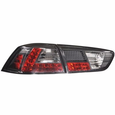 Lancer'08 Rear Lamp Crystal LED Black