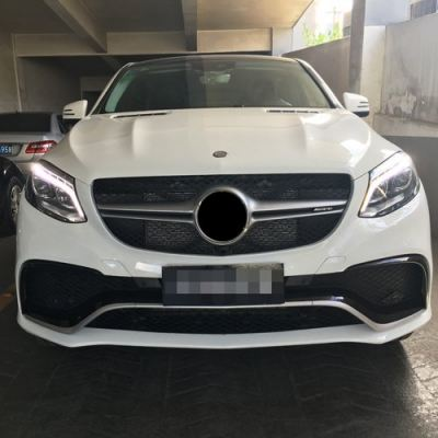 GLE Coupe 63 Look Front Bumper