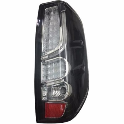 Navara Rear Lamp Crystal Black LED + Light Bar