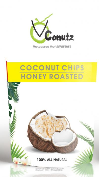 Coconut Chips - Honey Roasted