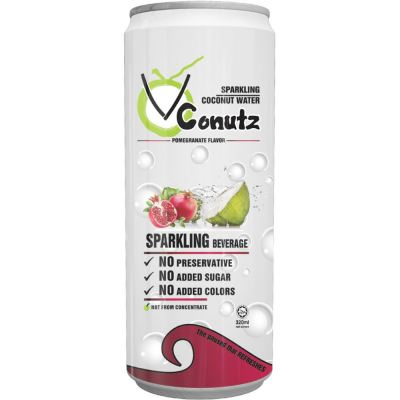 Sparking Coconut Water - Pomegranate