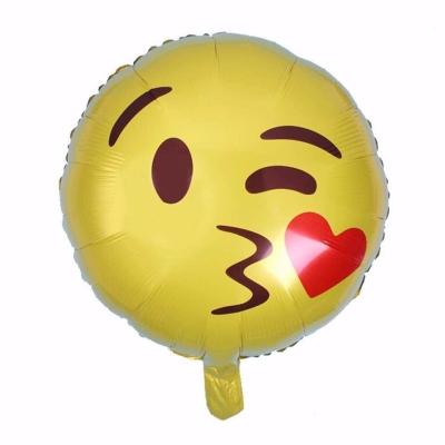 18 inch Emoji Foil Balloon