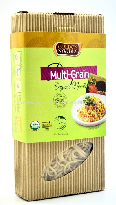 Golden Noodle Organic Multi Grain Steam Noodle