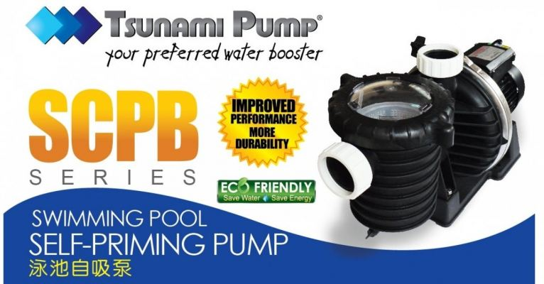 Tsunami SCPB100 Swimming Pool Pump ID559685