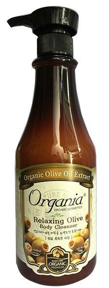 ORGANIA RELAXING OLIVE BODY CLEANSER 750G