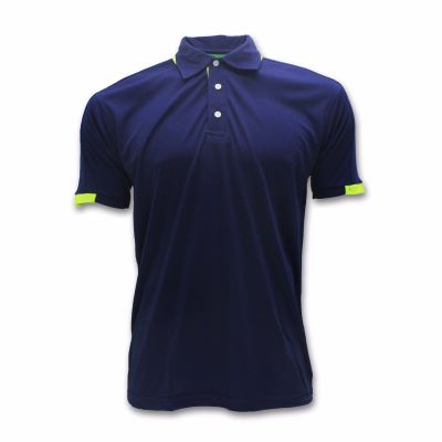 Attop Microfibre Interlock - ADF1502 NAVY/ GREEN