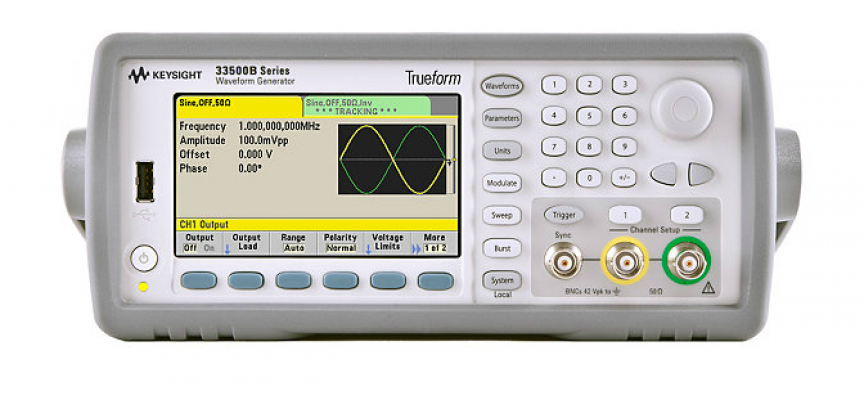 Waveform Generator, 120MHz, 2-Channel, 33622A