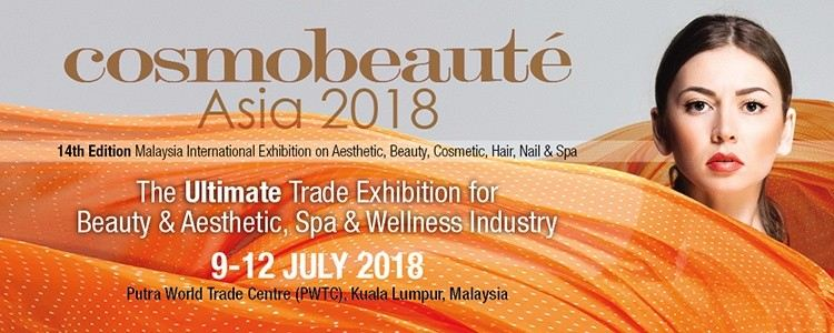 Cosmobeaute Asia 2018 July 2018 Year 2018 Past Listing