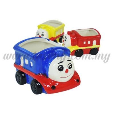 Ceramic Mousse Cup -Thomas Train 1pc  (CMC-TM)