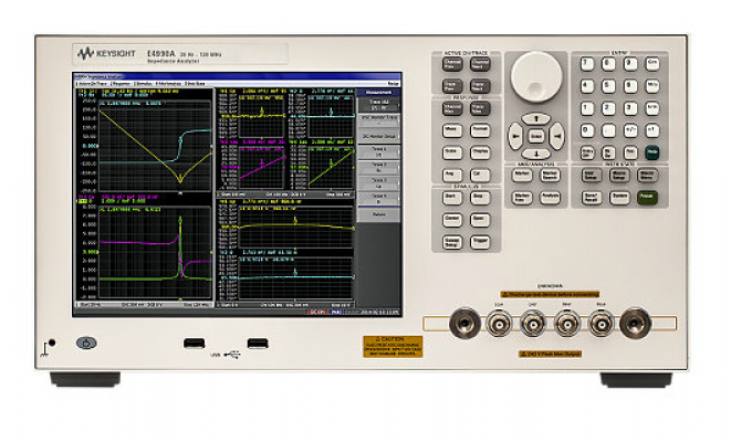 Keysight Impedance Analyzer, 20Hz to 10/20/30/50/120MHz, E4990A