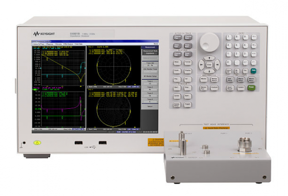 Impedance Analyzer, 1MHz to 500MHz/1GHz/3GHz, E4991B