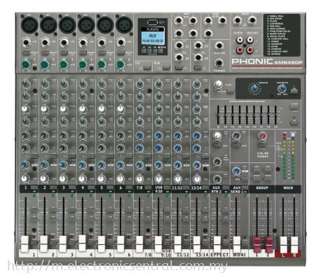 PHONIC MIXER (AM-642)