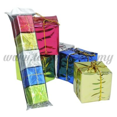 Present Box Big -5cm 1pack *5pcs (PB-B5)