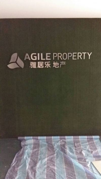 Agile Property Stainless Steel Box Up Lettering