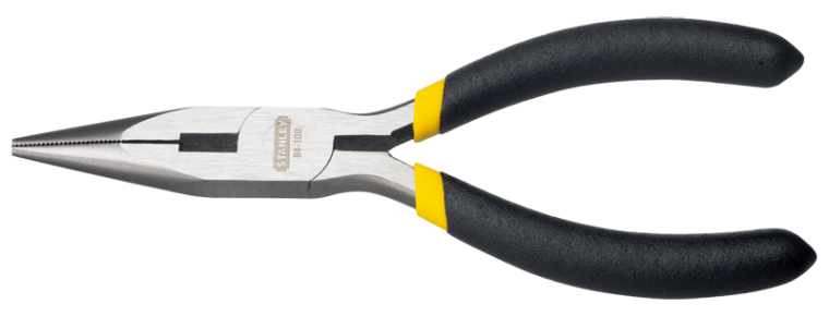 BASIC LONG NOSE PLIERS Pliers Clamping Tools Stanley