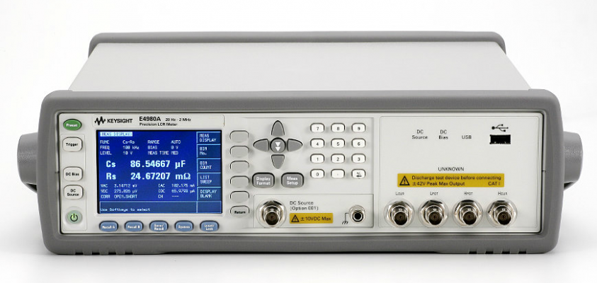 Keysight Precision LCR Meter, 20Hz to 2MHz, E4980A