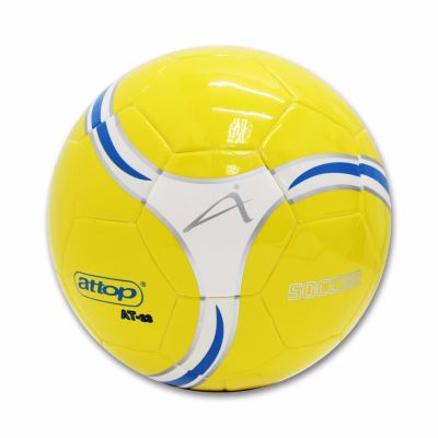 ATTOP SOCCER BALL AT 22 YELLOW/WHITE/BLUE