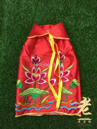 8寸 莲花袍-红色