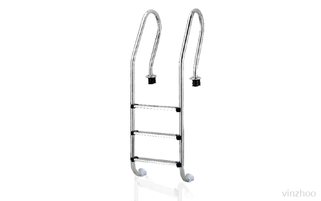 Emaux NSF315-S #304 S/S 3 Steps Pool Ladder-Futuristic Type