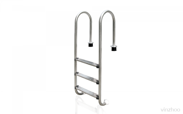 Emaux NMU415-S #304 S/S 4 Steps Pool Ladder-Muro Type