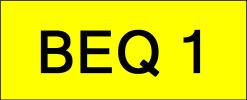 BEQ1 Super VVIP Plate