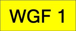 WGF1 Super VVIP Plate