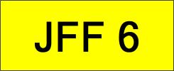 JFF6 VVIP Plate