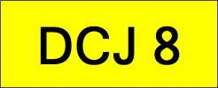 DCJ8 VVIP Plate