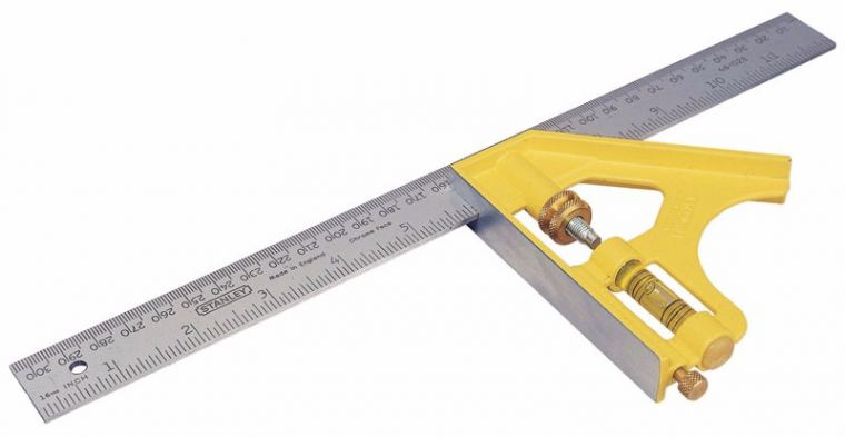 300MM DIE CAST COMBINATION SQUARE Squares Layout Tools Stanley
