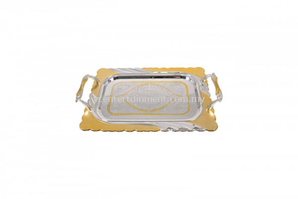Gold and Sliver Tray (S)