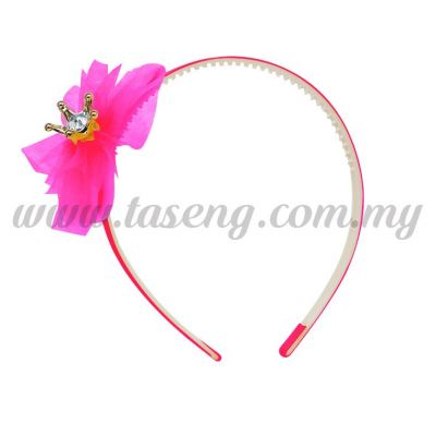 Hairband 1 LITTLE CROWN *MAGENTA (DU-HB1-M)