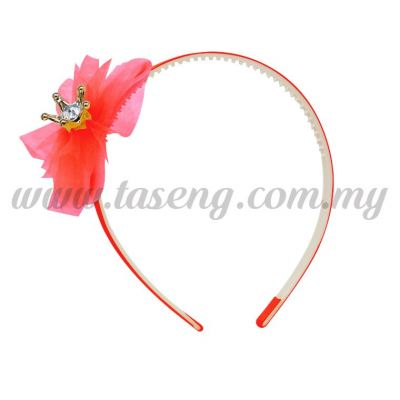 Hairband 1 LITTLE CROWN *ROSE (DU-HB1-RO)