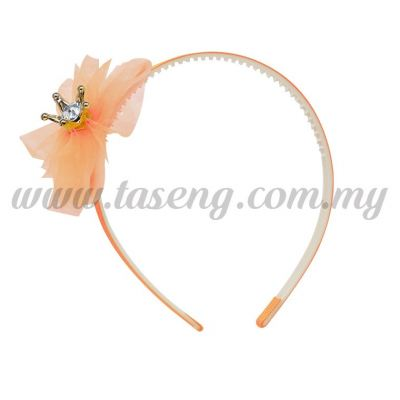 Hairband 1 LITTLE CROWN *PEACH (DU-HB1-PE)