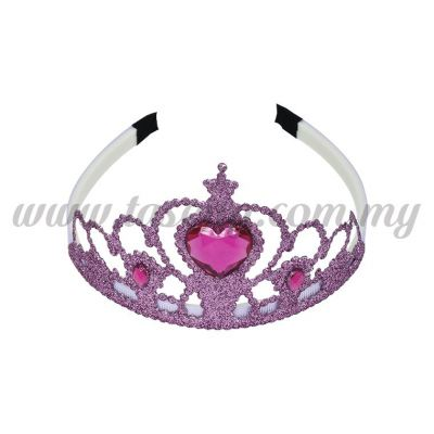 Hairband 4 DIAMOND CROWN *LAVENDER (DU-HB4-L)
