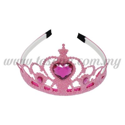 Hairband 4 DIAMOND CROWN *PINK (DU-HB4-P)