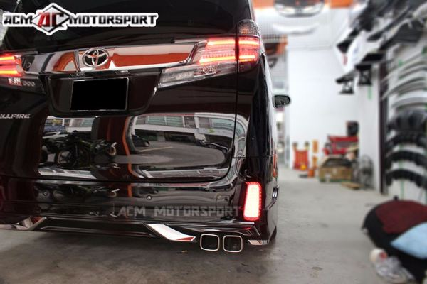 Toyota vellfire 2015 rear reflctor led light
