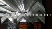 Aluminium Equal Angle Bar 50.8mm x 50.8mm x 3mm(T) x 6.1M(L) Aluminium Angle