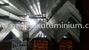 ALUMINIUM EQUAL ANGLE BAR 50.8mm x 50.8mm x 2mm(T) x 6.1M(L) Aluminium Angle
