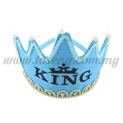 Hairband 9 CROWN KING (Light) *Blue (DU-HB9-B)