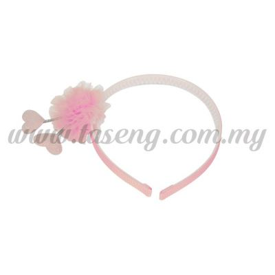 Hairband 12 SPRING LOVE *BABY PINK (DU-HB12-BP)