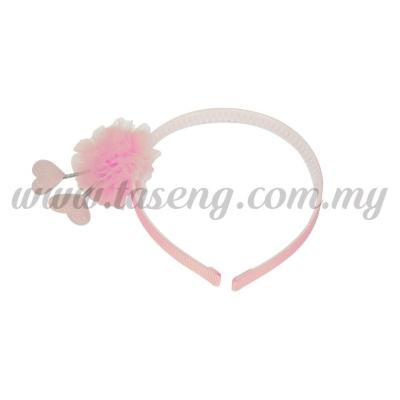Hairband 12 SPRING LOVE *BABY PINK (DU-HB12-BP)