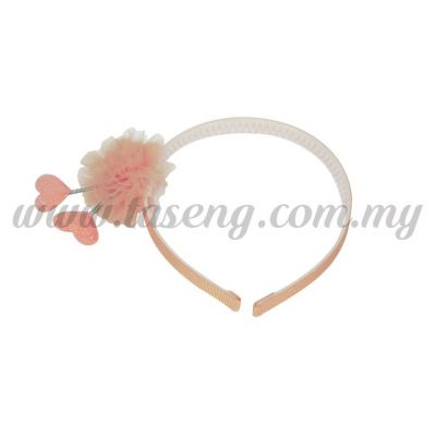 Hairband 12 SPRING LOVE *PEACH (DU-HB12-PE)