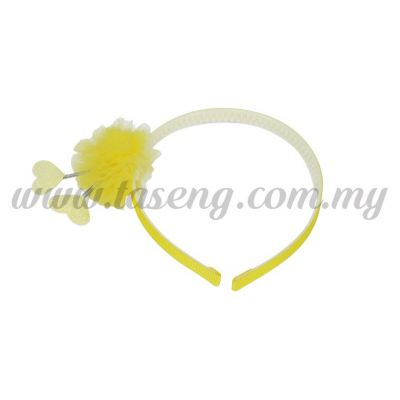 Hairband 12 SPRING LOVE *YELLOW (DU-HB12-Y)