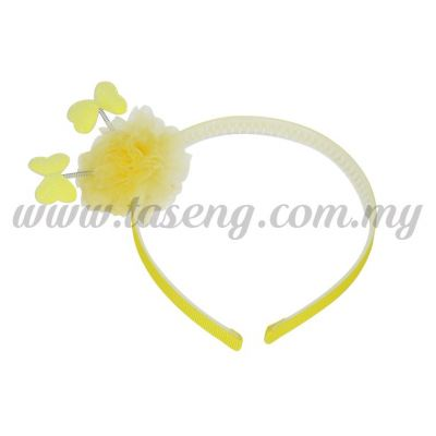 Hairband 13 SPRING RIBBON *YELLOW (DU-HB13-Y)