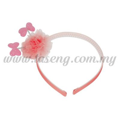 Hairband 13 SPRING RIBBON *ROSE (DU-HB13-RO)