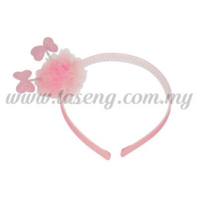 Hairband 13 SPRING RIBBON *BABY PINK (DU-HB13-BP)