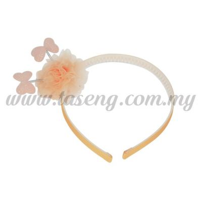 Hairband 13 SPRING RIBBON *PEACH (DU-HB13-PE)