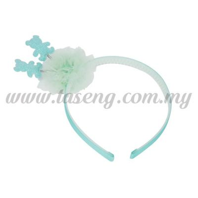 Hairband 14 SPRING BEAR *BLUE (DU-HB14-B)