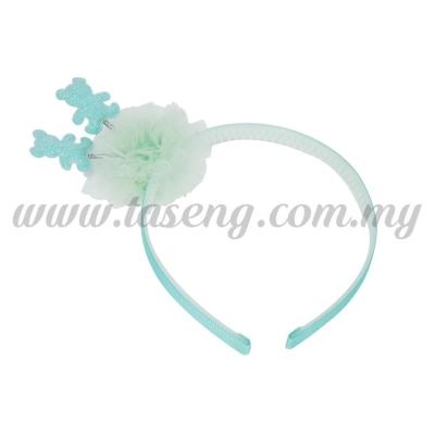 Hairband 14 SPRING BEAR *BLUE (DU-HB14-B)